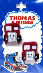 キャラクター ボタン 機関車トーマス ( 型抜き ) バーティー ( キャラクター ボタン チルドボタン チャイルド ボタン ぼたん 釦 飾り アクセサリー 可愛い かわいい 子供 こども 手芸 ) 【メ