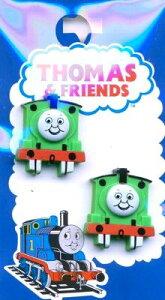 キャラクター ボタン 機関車トーマス ( 型抜き ) ( パーシー ) ( キャラクター ボタン チルドボタン チャイルド ボタン ぼたん 釦 飾り アクセサリー 可愛い かわいい 子供 こども 手芸 ) 【