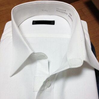 대신 셔츠 단추를 벨크로 사양으로 리폼 합니다.