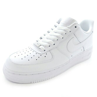 1 07 NIKE nike AIR FORCE Air Force One white white AF1 sneakers