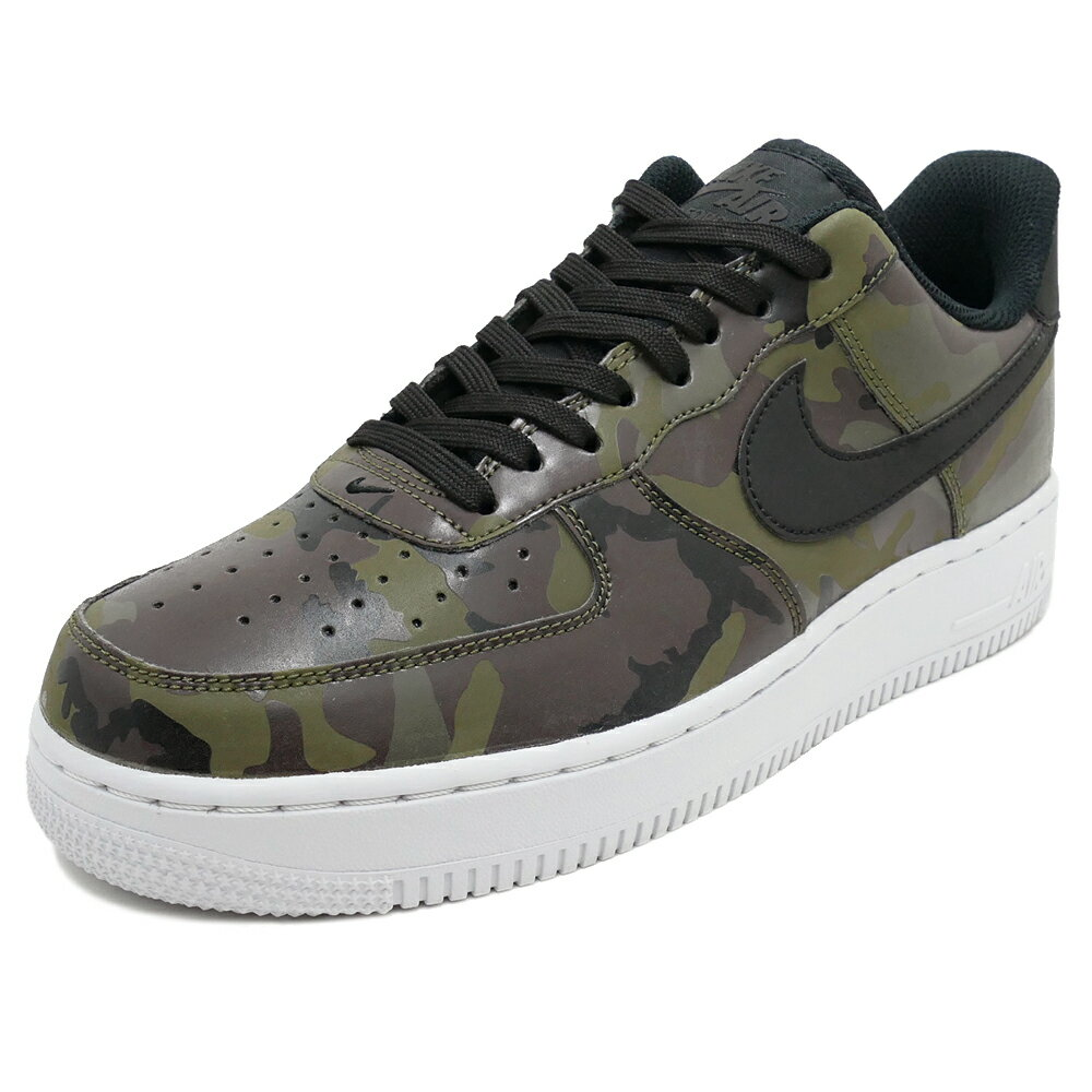NIKE AIR FORCE 1 '07 LV8【ナイキ エアフォース1'07LV8】mid olive/black/baroque brown/sequoia(ミッドオリーブ/ブラック/バロックブラウン/セコイア) CAMO PACK 823511-201 17HO