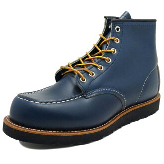 "8853 6 RED WING redwing CLASSIC WORK ""MOC-TOE classical music work mock toe indigo portage インディゴポーテージブーツ"