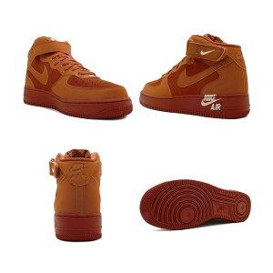 スニーカーナイキNIKEエアフォース1MID07ダークラセット/グアバアイスメンズレディースシューズ靴18HO