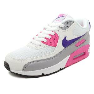 スニーカーナイキNIKEウィメンズエアマックス90ホワイト/パープル/ピンクメンズレディースシューズ靴18FA