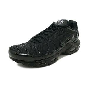 スニーカーナイキNIKEエアマックスプラスブラックメンズレディースシューズ靴18HO