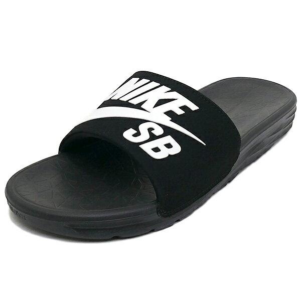 スニーカー ナイキ NIKE ベナッシソーラーソフト ブラック/ホワイト メンズ レディース シューズ 靴