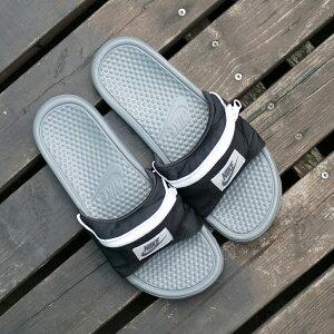 スニーカーナイキNIKEベナッシJDIファニーパックブラック/グレーメンズレディースシューズ靴18FA