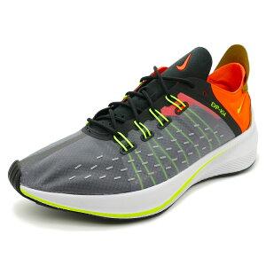 スニーカーナイキNIKEEXP-X14ブラック/ボルト/オレンジメンズレディースシューズ靴18FA