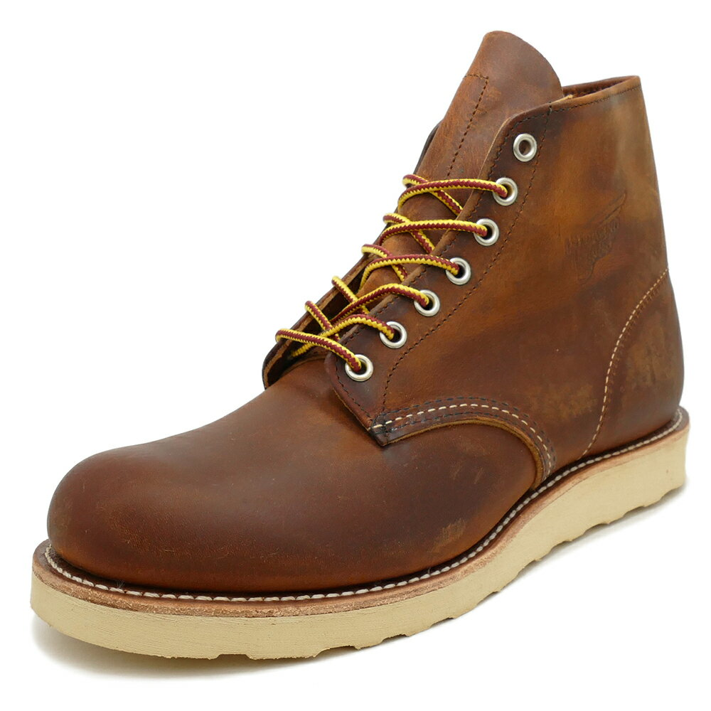 """RED WING 9111 Classic Work 6"""" Round-toe 【レッドウイング 9111 クラシックワーク 6インチ ラウンドトゥ】Copper Rough&Tough(カッパー ラフ&タフ)"""