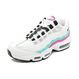 スニーカー ナイキ NIKE ウィメンズエアマックス95 ホワイト/ブラック/オウロラグリーン メンズ レディース シューズ 靴 19HO