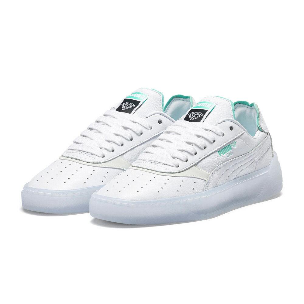 【5月25日発売】スニーカー プーマ PUMA カリ-0ダイアモンドサプライ ホワイト/ホワイト メンズ レディース シューズ 靴 19SS