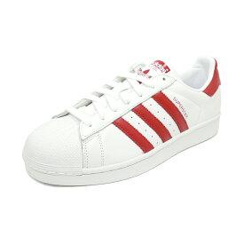 スニーカー アディダス adidas スーパースター ホワイト/レッド メンズ レディース シューズ 靴 19SS