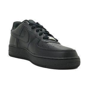 スニーカーナイキNIKEエアフォース1GSブラック/ブラック/ブラック314192-009ジュニアレディースシューズ靴20FA