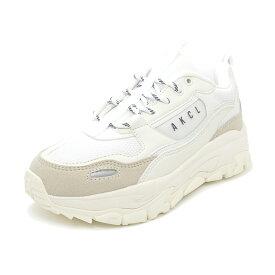スニーカー アキクラシック AKIII CLASSIC アーバントラッカー ホワイト/グレー AKC-0003-WTG レディース シューズ 靴