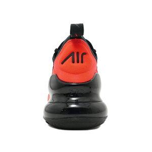 スニーカーナイキNIKEエアマックス270ブラック/メタリックシルバー/ブライトクリムゾンAH8050-026メンズレディースシューズ靴19HO