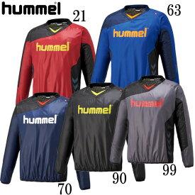裏付きピステトップ【hummel】ヒュンメル ● ピステシャツ18AW (HAW4181)*60