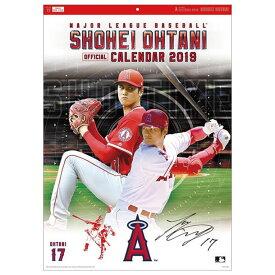 大谷翔平 2019年 カレンダー 【大谷 翔平】野球 カレンダー 18FW(CL-529)*01