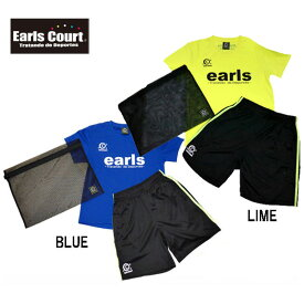 ジュニアトレーニング2点セット(帽子なし)【Earls court】アールズコート ● JR サッカーウェア (ECJ-ST001WAKE)*69