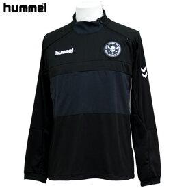 FC SKULL トレーニング ハーフジップ トップ【hummel】ヒュンメル ● ジャージシャツ19SS (HAT4060ZS)*31