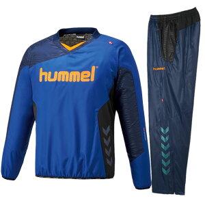 裏付きピステ上下セット【hummel】ヒュンメル●ピステシャツ・パンツ18AW(HAW4181/HAW5181)