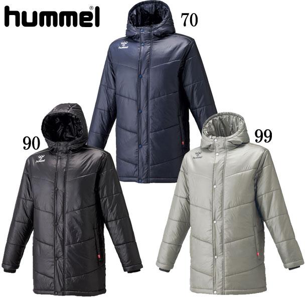 中綿ハーフコート 【hummel】ヒュンメル ● ウェア コート 18FW (HAW8080)*62