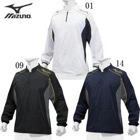 ミズノプロ トレーニングジャケット 【MIZUNO】ミズノ 野球 ベースボール トレーニングジャケット 19SS(12JE9J02)*26