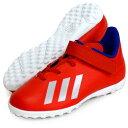 エックス 18.4 TF J ベルクロ 【adidas】アディダス ジュニア サッカー トレーニングシューズ X 19Q1(EE4347)*25