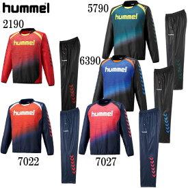 ジュニアトライアルスーツ【hummel】ヒュンメル ●ジュニアウィンドブレーカーシャツ 18AW(HJW4182SP)*58
