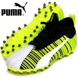 プーマ ワン 5.3 MG JR【PUMA】プーマ ●ジュニアサッカースパイクシューズ19FW (105658-02)*45