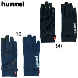 あったかフィールドグローブ【hummel】ヒュンメルウェアアクセサリー19FW (HFA3046)*20