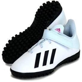 エックス 19.4 TF J ベルクロ 【adidas】アディダス ジュニア サッカートレーニングシューズ X 20Q2(FW1065)*47