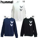 スウェットクルーネック 【hummel】ヒュンメル ● スウェットシャツ (HAP8001CA)*73