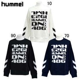 スウェットクルーネック 【hummel】ヒュンメル ● スウェットシャツ (HAP8002CA)*73
