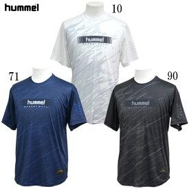 バスケット昇華半袖 Tシャツ 【hummel】ヒュンメル ● バスケットウェア Tシャツ (HAPB4032)*71