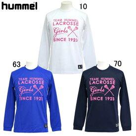 ラクロスロングスリーブTシャツ【hummel】ヒュンメルラクロス ウェア Tシャツ(HAPL7002)*69