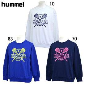 ラクロス スウェット トレーナー (レディース)【hummel】ヒュンメルラクロス ウェア スウェット(HAPL8001)*76