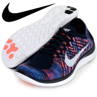 无耐克4.0油炸食品编织物耐克跑步鞋田径15FW(717075-401)※0