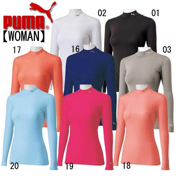 LIGHT COMPRESSION モックネック LS シャツ (WOMEN)【PUMA】プーマ ● インナーシャツ レディース(511460-sale)*63