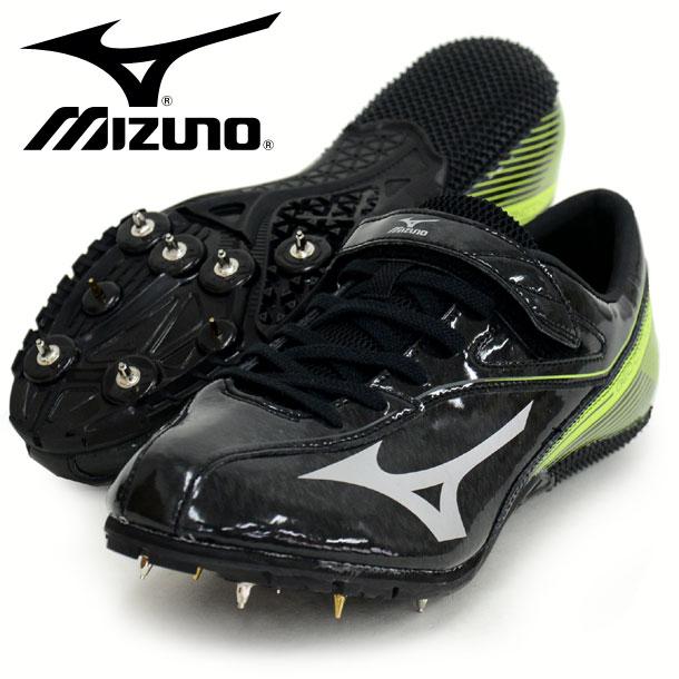 ジオサイクロン WIDE【MIZUNO】 ミズノ 陸上スパイク 100〜400m ハードル用 16SS(U1GA161609)*45