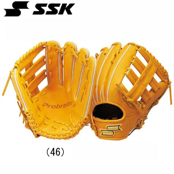 プロブレイン硬式グラブ外野手用【SSK】●エスエスケイ 硬式野球グラブ 16SS(PHX68)*30