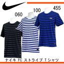 ナイキ F.C. ストライプ Tシャツ【NIKE】ナイキ ●Tシャツ 16SS(789450)*44