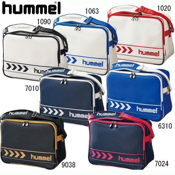 エナメルショルダーバッグ【hummel】ヒュンメル エナメルバッグ 16SS(HFB3068)*28
