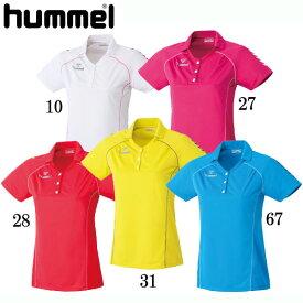 レディースゲームシャツ【hummel】ヒュンメル サッカー ゲームシャツ レディース 16AW(HLG1001)*23