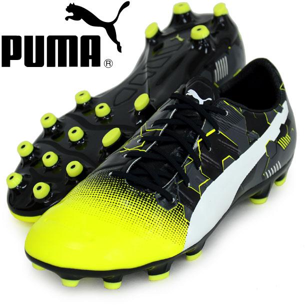 エヴォパワー 1.3 グラフィック HG【PUMA】プーマ サッカースパイク16FW(103770-01)*58