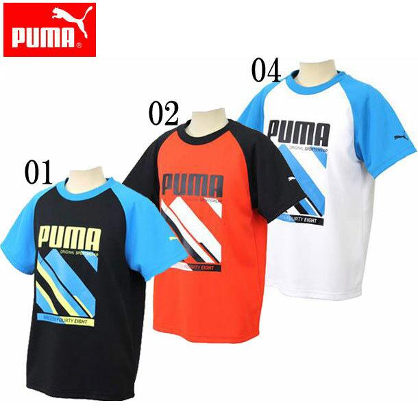 SU SS TEE (ジュニア)【PUMA】プーマ● JR Tシャツ (837831)*64