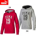 GL フーデッドスウェット(ジュニア)【PUMA】プーマ●ジュニアウエア(839050)*56
