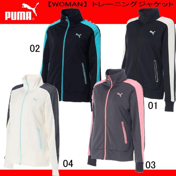 トレーニングジャケット(WOMAN)【PUMA】プーマ ● レディースウエア(920200)*76