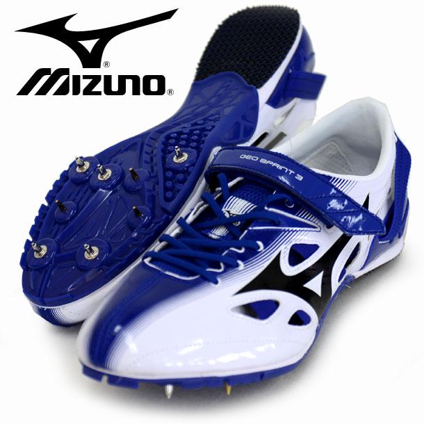 ジオスプリント 3【MIZUNO】 ミズノ 陸上スパイク 100・400mハードル用 短距離専用 17SS(U1GA171009)*27