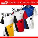 FOOTBALL STARS & STRIPES (メンズ)【PUMA】プーマ● 半袖Tシャツ (571232)*69