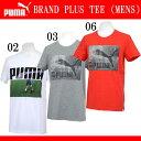 BRAND PLUS TEE (MENS)【PUMA】プーマ● 半袖 Tシャツ(571294)*64